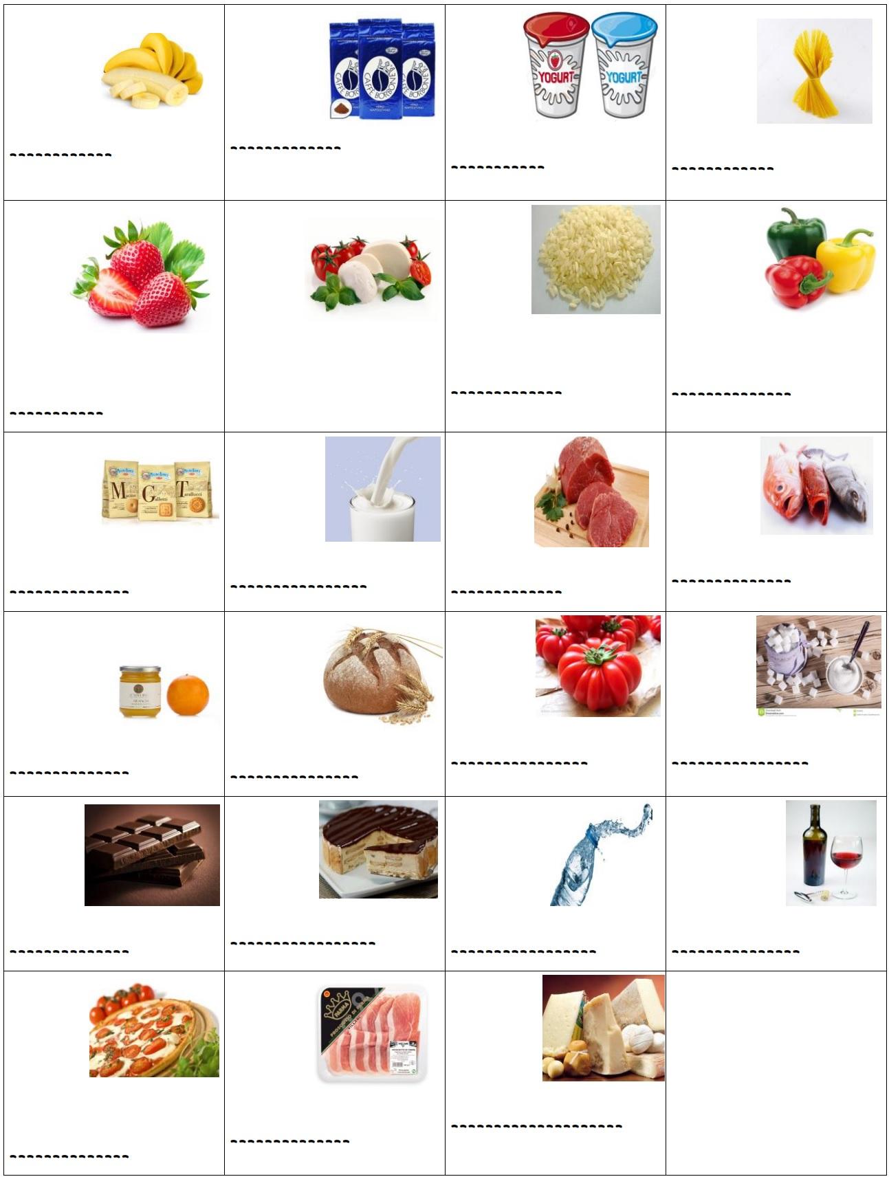 cibo e verbo scegliere